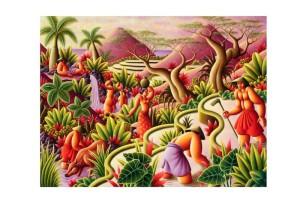 Richard Winkler-Spring of Life, 2006, 100x130cm