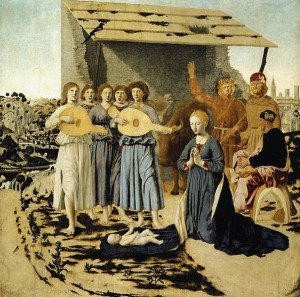 Piero della Francesca, Nativity, National Gallery, London, 1470