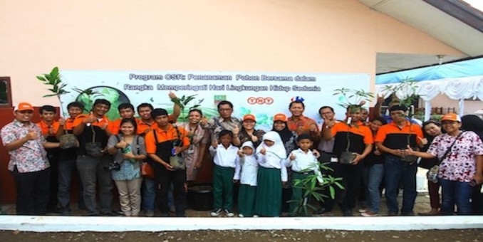 TNT Express & Carrefour Hold A Tree-Planting Program