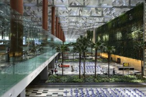 Terminal 3 - Green Wall & Baggage Belt