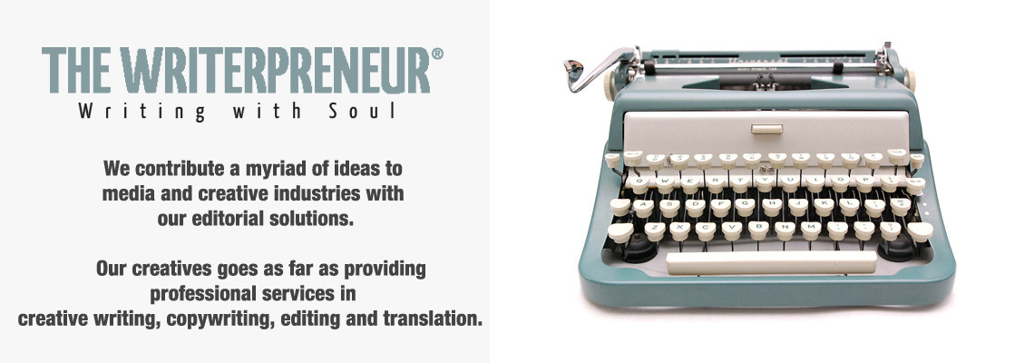 Welcome to The Writerpreneur