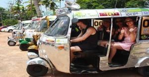The Lonely Rickshaws