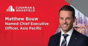 Cushman & Wakefield ASPAC Welcomes New Chief