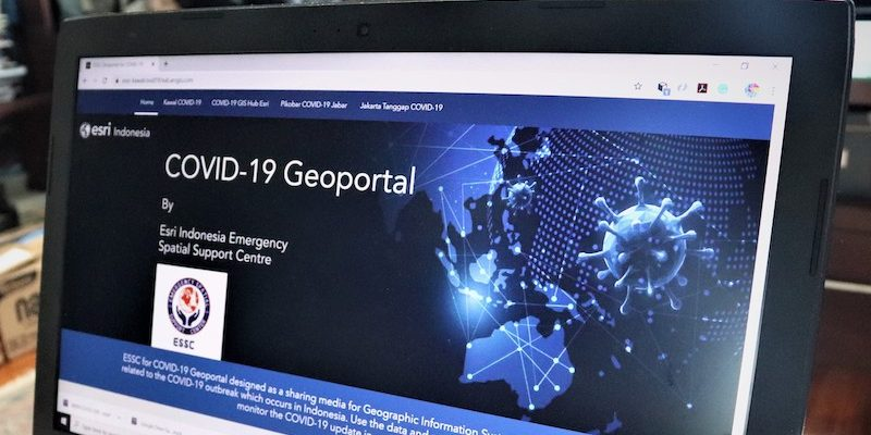 Esri Indonesia Launches Geoportal to Track COVID-19 in Real-Time