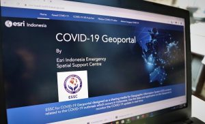 Esri Indonesia Luncurkan Geoportal Guna Lacak COVID-19 secara Real-Time